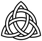 Triquetra-circle-interlaced